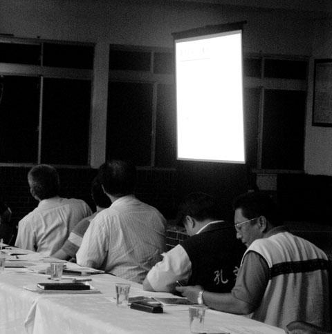 安全評估說明會記錄 (9)那瑪夏鄉三村