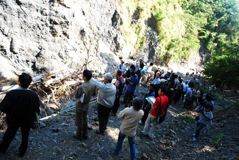 第一個「特定區域」的劃定─富山部落