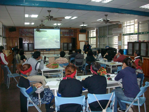 台東縣部落行動聯盟成立,互相協助重建