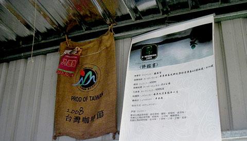 泰武觀星咖啡,走過八八更堅強