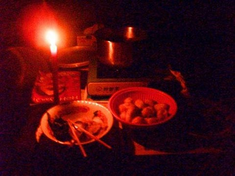 神山牧師受困山中的心情故事:0530沒有電的第二個夜晚