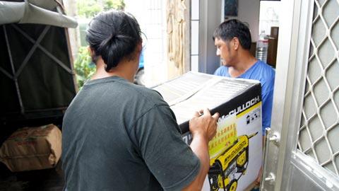大雨大雨一直下(3)颱風來了 發電機請自己「加油」