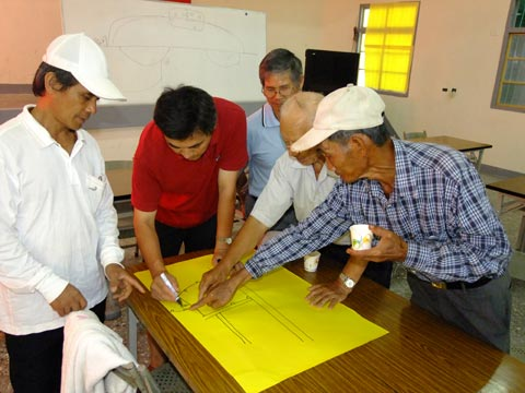 我們如何共同避難(3)新發村的防災演習與避難廚房