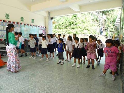 學校在哪裡(4) 學生人數僅剩1/3的霧台國小