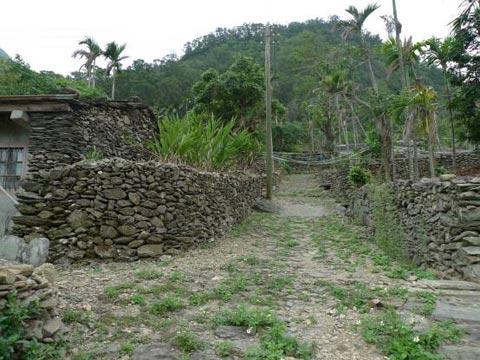 原地重建的達來部落