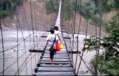 懸盪空中的回家路─美蘭部落