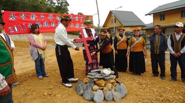 禮納里部落系列(7)第一間教會如期舉行動土儀式