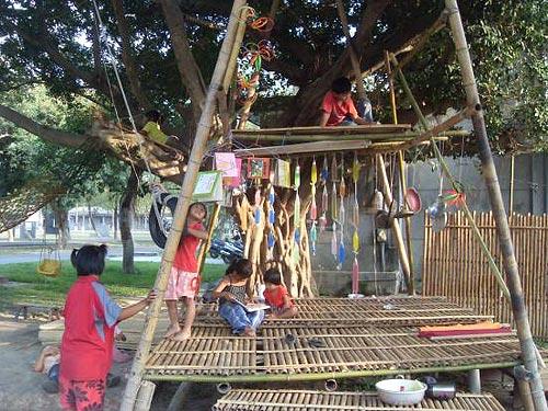 大人的世界沒有孩子的基地?大社災童盼樹屋重建