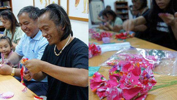南沙魯產業起「布」  從花布康乃馨開始