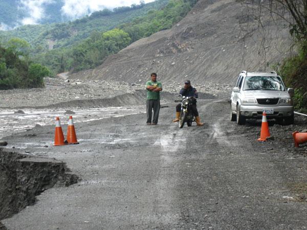 汛期之初的桃源:不穩的削山便道、停電與危村(2)