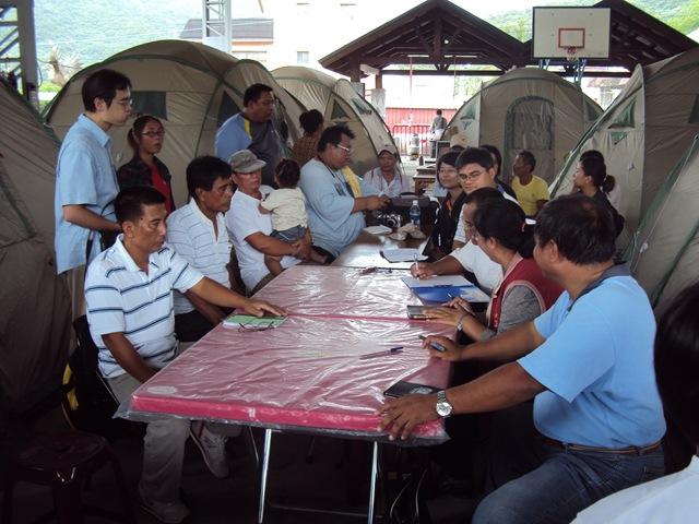 中繼帳篷:社會關係重建再造的一個平台