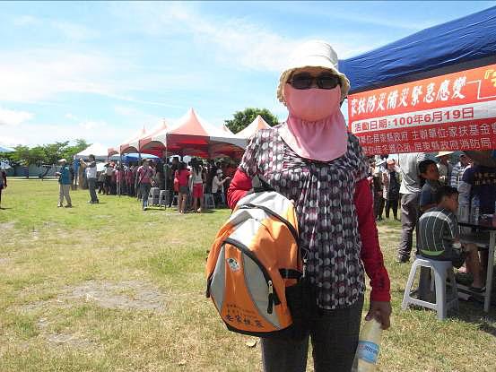 沿海防汛準備 家扶宣導發救難包