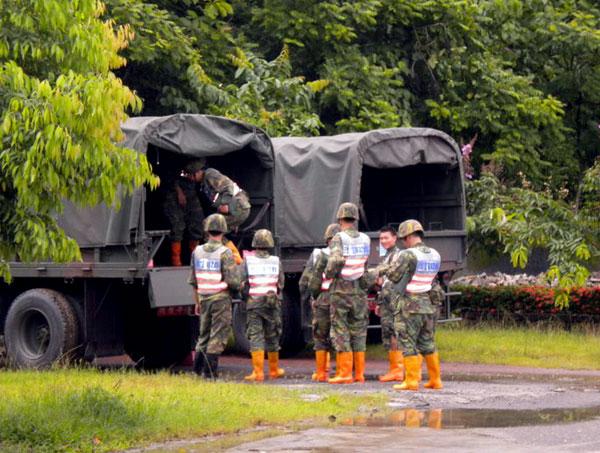 【馬鞍颱風0719】六龜:國軍進駐待命