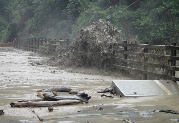 【馬鞍颱風0719】那瑪夏:一夜大雨,對外交通全數中斷