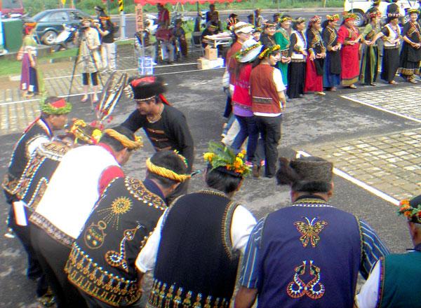 禮納里部落(16)大社部落豐年祭,遷居後的第一次