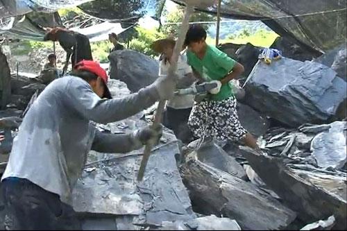 嘉蘭報告75-76採石頭,製石板