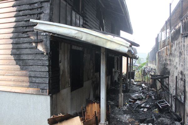 禮納里部落(18)永久屋火災,是首例但恐非個案