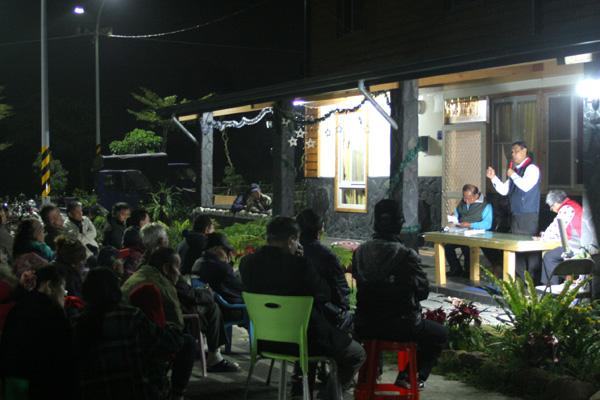 禮納里部落(19)山上的風很香,我們要守住:在禮納里召開的大社部落會議