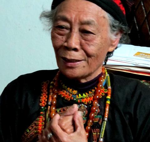 用古謠唱出心中最動人的詩篇─排灣族耆老莊月里