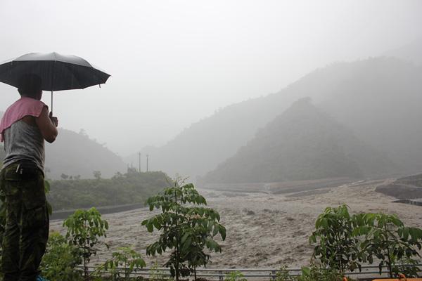 夏日汛期挑戰正式來臨─來義的撤村廣播