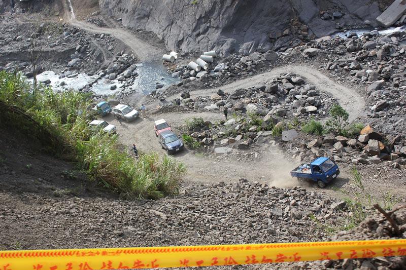 0702豪雨成災24天:桃源族人多數返鄉,部分路段重回八八災後原點