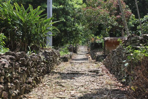 達來部落地層持續下滑,居民盼護岸工程,並希望回舊部落避難