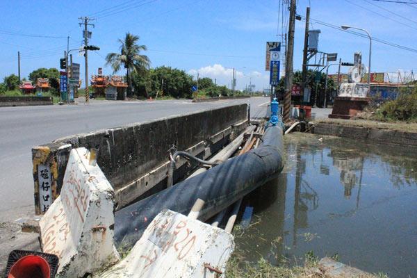 擺脫淹水形象,林邊鄉公所盼完成兩橋修建工程