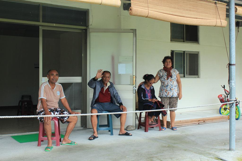 霧台鄉民預先撤離至營區  汛期間來回營區部落
