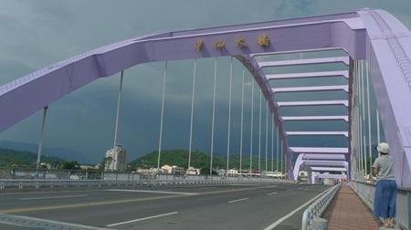 災後新建的甲仙大橋