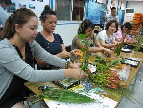 家蓁申請園藝課程讓村民藉此紓發壓力情緒