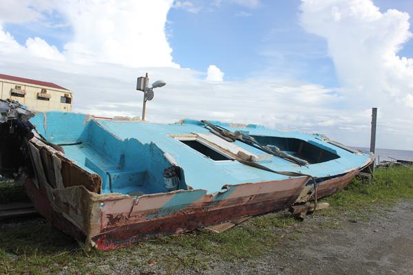 蘭嶼,颱風過後(1)重建的變化球