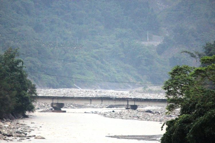 土石不斷堆積,枯木沒有處理,民權大橋還能撐多久?