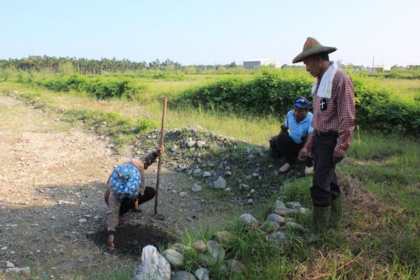 長治百合部落(35)少了一些人性,也少了排水設施的心靈耕地
