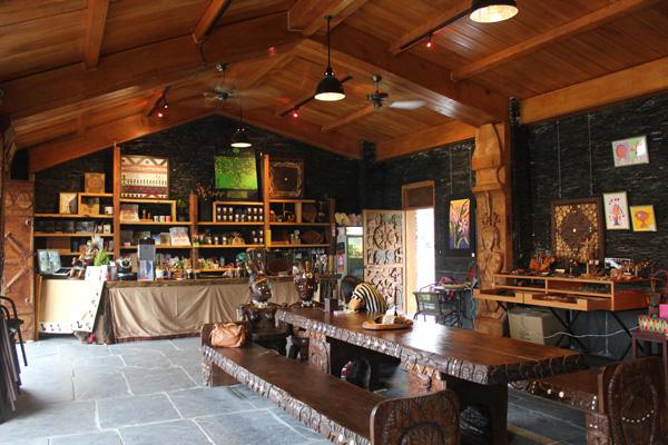 在吾拉魯茲永久屋,來杯泰武原鄉咖啡!