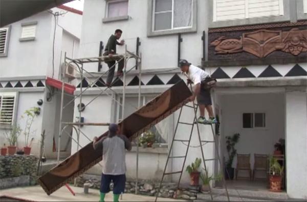 嘉蘭報告95–換工美化永久屋