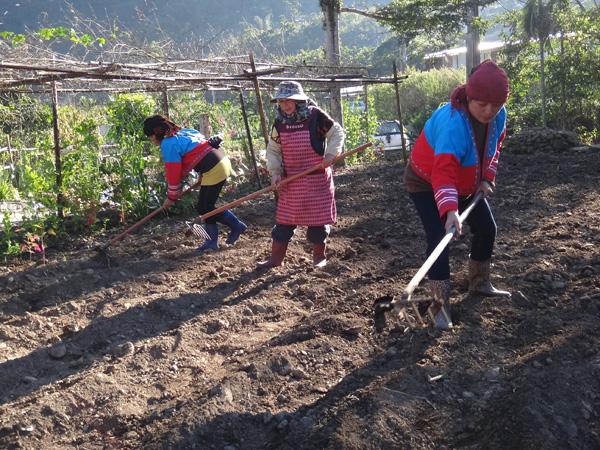 跨越族群的祝福─2013達卡努瓦小米播種儀式